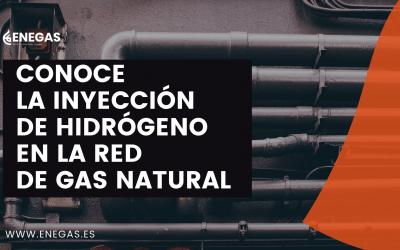 Conoce la inyección de hidrógeno en la red de gas natural